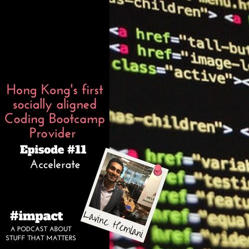 Hong Kong's first socially aligned Coding Bootcamp provider